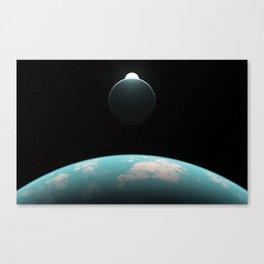 Überwelt Canvas Print