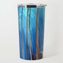 Emily Carr - Blue Sky - Canada, Canadian Oil Painting - Group of Seven Travel Mug