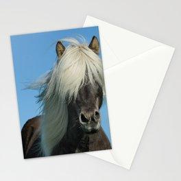 Icelandic Horse Closeup Stationery Cards