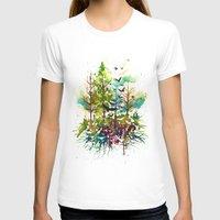 jungle T-shirts featuring Jungle by Sah Matsui