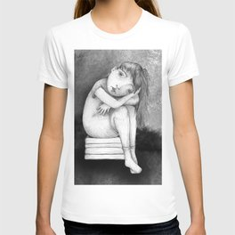 Sad Girl by Colleen Rowan Kosinski T-shirt