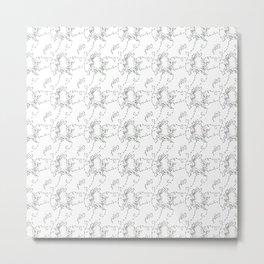 Octopodes Untangling Lights Metal Print