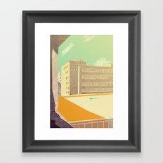 window view Framed Art Print