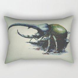 Rhinoceros Beetle  Rectangular Pillow