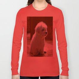 Coton de Tulear Puppy Long Sleeve T-shirt