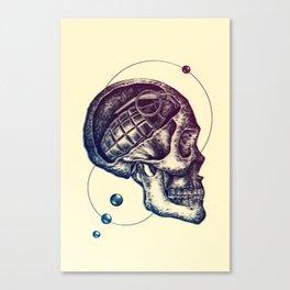Death Mind Canvas Print