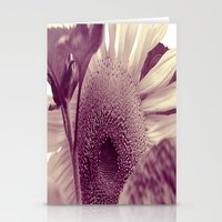 sunflower Stationery Cards featuring Sunflower by Laake-Photos