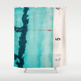 Swimming Pool No. 3 Shower Curtain
