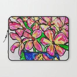 Frangipani Flowers Laptop Sleeve