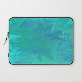Torquoise Fractal Laptop Sleeve