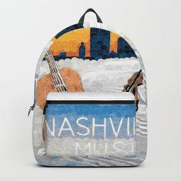 Nashville Music Still Flows Backpack