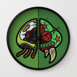 Old & New Metroid Wall Clock