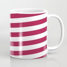 Peace and Love USA Flag Coffee Mug