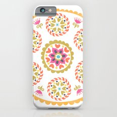 Suzani inspired floral 4 Slim Case iPhone 6s