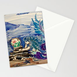 Dreaming Mermaid Stationery Cards
