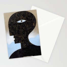black head Stationery Cards