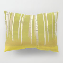Birch Trees Pillow Sham