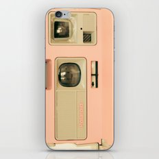 Pink Pola Love vintage camera iPhone & iPod Skin