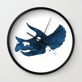 Triceratops skull Wall Clock