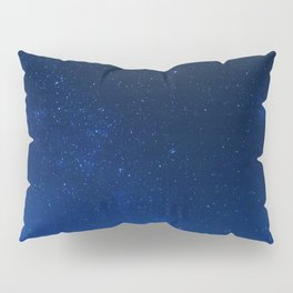 Blue Night Sky (Color) Pillow Sham