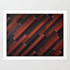 Maniac Pattern Art Print