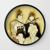 marx Wall Clocks featuring MARX BROTHERS - 004 by Lazy Bones Studios