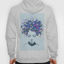 Woman Butterfly Hoody