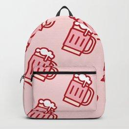 Pink Beer Backpack
