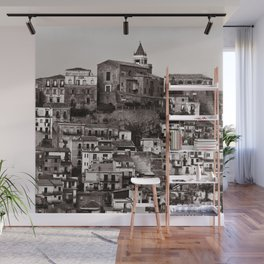 "Urban Landscape of Sicily ""VACANCY"" zine Wall Mural"
