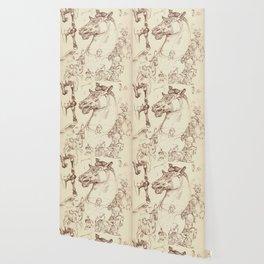Leonardo Da Vinci, The Four Horses of Apollo Wallpaper