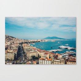 View  Naples Canvas Print