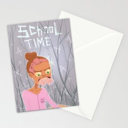 school time Stationery Cards