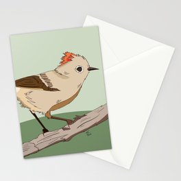 Ruby Crowned Kinglet Stationery Cards