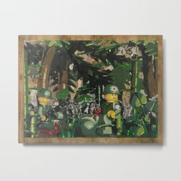 Tending to the Wounded, Vietnam Metal Print