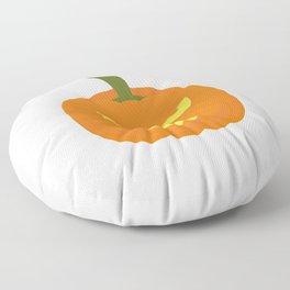 Evil light Halloween Pumpkin Floor Pillow