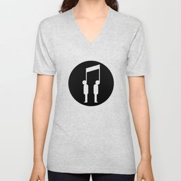 Music connects people Unisex V-Neck