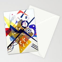Vassily Kandinsky - Auf Weiss II  (on white II) Stationery Cards
