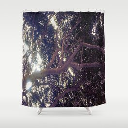 Up above full picture Shower Curtain