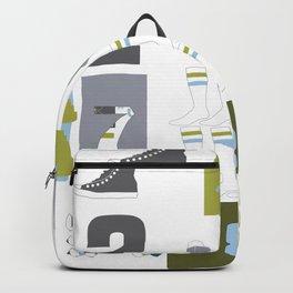 Geek Chic Numbers Backpack