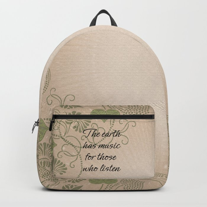 Earth Music Backpack