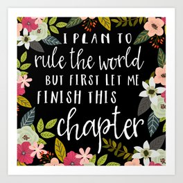 Plan To Rule The World Art Print