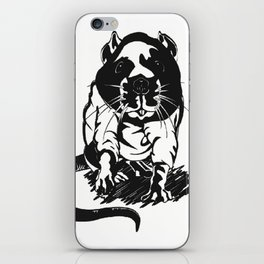 hood_rat iPhone Skin