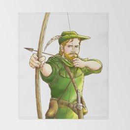Robin Hood Throw Blanket