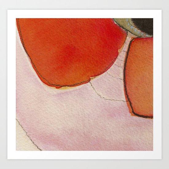 Tapas Abstract 3 Art Print