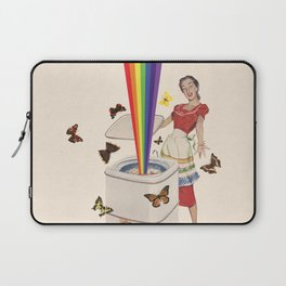 Rainbow Washing Machine Laptop Sleeve
