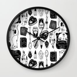 teen Witch Wall Clock