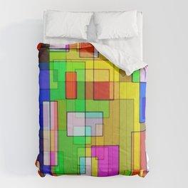 Mosaic Deluge  Comforters