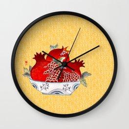 Granatum_Solnekim Wall Clock