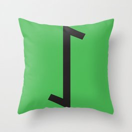 Showtasting - Rune 16 Throw Pillow