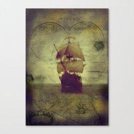 Ship Has Sailed Canvas Print